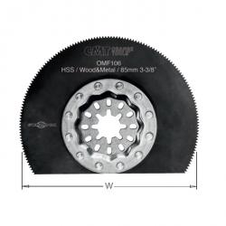Zesatw 5 szt brzeszczotów oscylacyjnych 85 mm CMT STARLOCK OMF106-X5