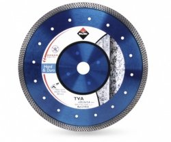 Tarcza diamentowa do materiałów twardych Rubi TVA 125 SUPERPRO (31933)