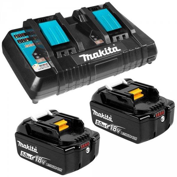 Zestaw combo Makita 3 narzędzia 3x5.0Ah 18V