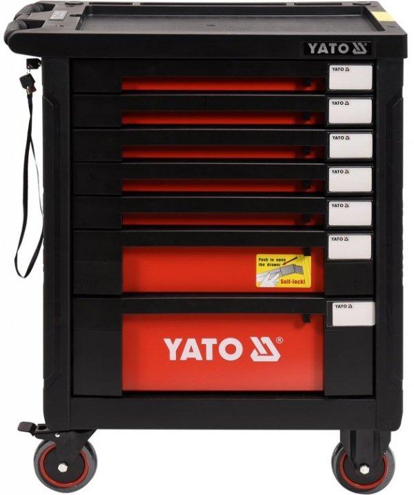 Wózek narzędziowy Yato z zestawem narzędzi 211 cz. YT-55290