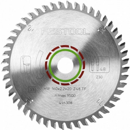 Tarcza pilarska specjalna Festool 160x2,2x20 TF48 496308