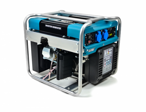 Inwertorowy agregat prądotwórczy benzyna K&S KS 2300i 230 V 2,3kW