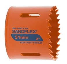 Bahco piła otworowa bimetaliczna SANDFLEX 60mm  /3830-60-VIP/