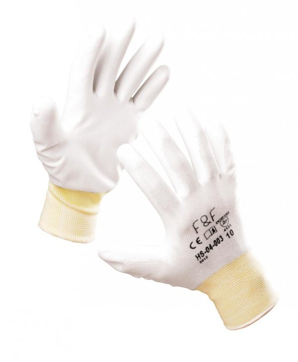 Rękawice poliestrowe elastyczne FRIDRICH&FRIDRICH HS-04-003
