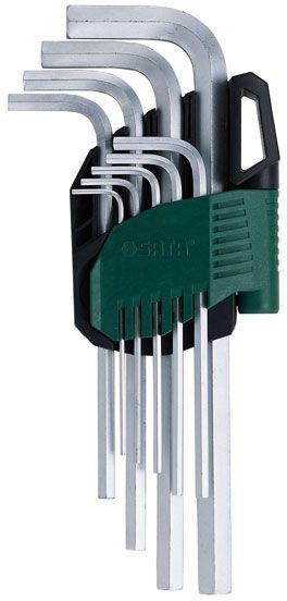 Zestaw 9 kluczy trzpieniowych ekstra długich 6-kątnych SATA 09101A metrycznych