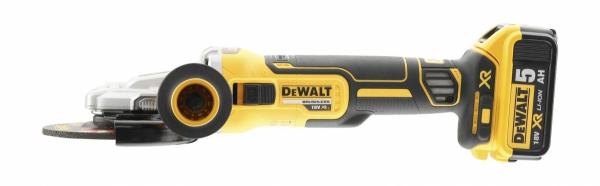 Akumulatorowa szlifierka kątowa DeWalt DCG405FN 125mm 18V