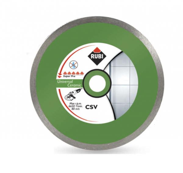 Rubi CSV 125 PRO (31915), Tarcza diamentowa uniwersalna do materiałów ceramicznych