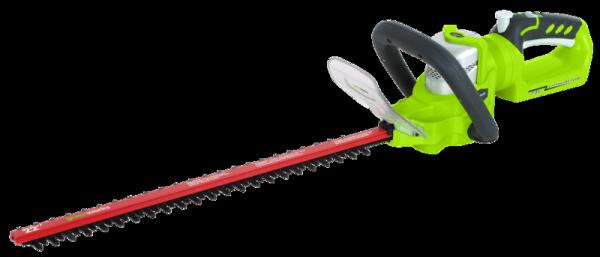 Nożyce do żywopłotu akumulatorowe GREENWORKS 24V (G24HT57) GR2200107