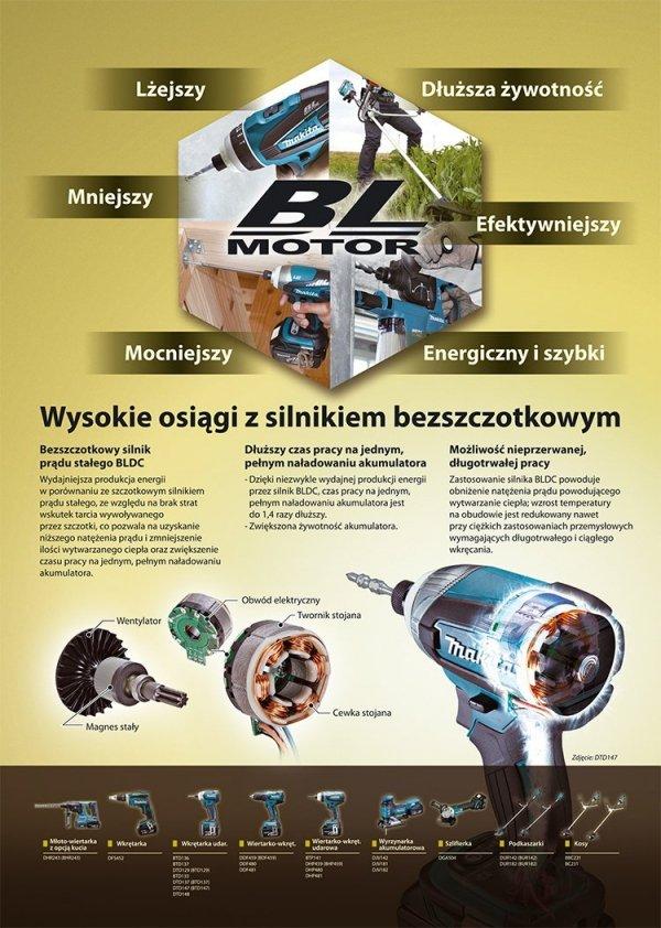 Zestaw Combo Makita DLX2006M Li-Ion 18V 2x4.0Ah