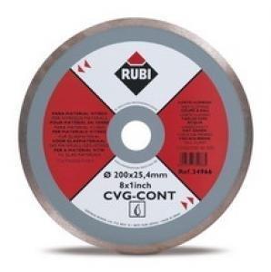 Rubi CVG CONT 200 x23,4mm (34966), Tarcza diamentowa do szkliwionego gresu