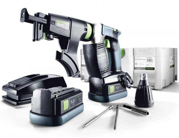 Wkrętarka akumulatorowa Festool DWC 18-4500 Li 5,2-Plus 574745