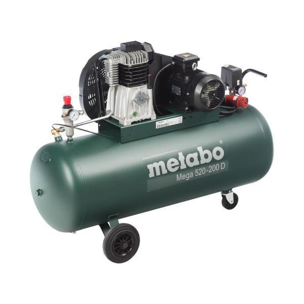 Kompresor sprężarka tłokowa Metabo MEGA 520-200 D