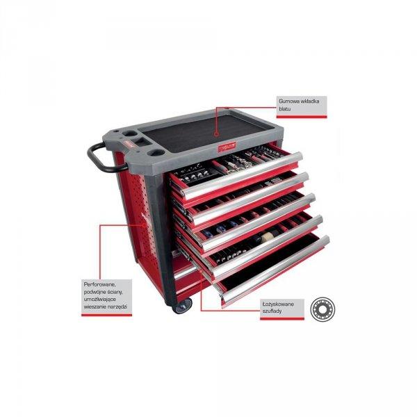 Szafka narzędziowa serwisowa Proline 211 elementów kat. 33115
