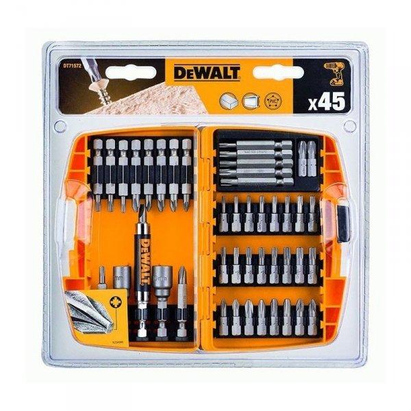 Zestaw bitów DeWALT DT71572 45el.