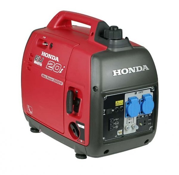 Agregat prądotwórczy HONDA EU20i 2,0kW 89dB(A) + Olej