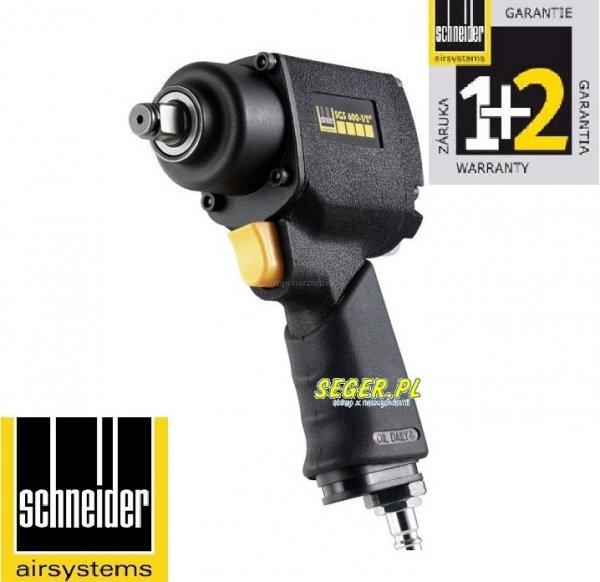 """SCHNEIDER klucz udarowy SGS 600-1/2"""" 600Nm  D322812"""