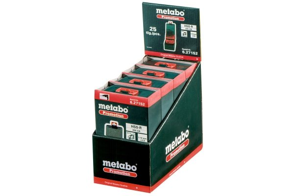Zestaw wierteł do metalu HSS-R Metabo 1-13mm 627152000