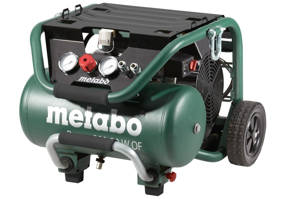 Kompresor sprężarka tłokowa bezolejowa Metabo Power 400-20 W OF 601546000