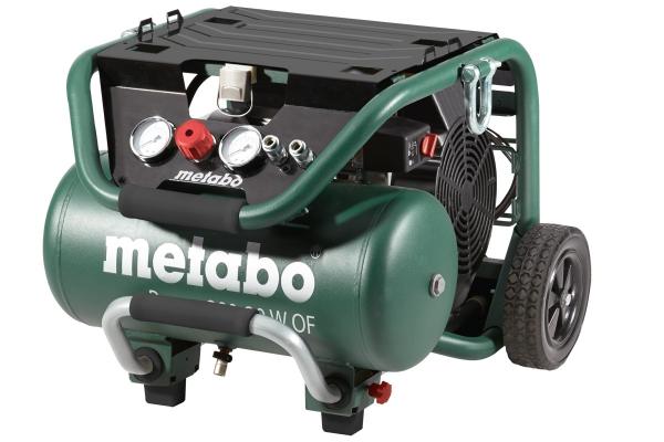 Kompresor sprężarka tłokowa bezolejowa Metabo Power 400-20 W OF