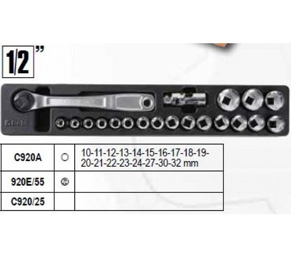 Skrzynka narzędziowa z zestawem 91 narzędzi BETA EASY 2120L-E/T91-E