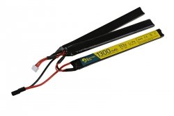 Akumulator LiPo 11,1V 1300mAh 3-modułowy 25/50C