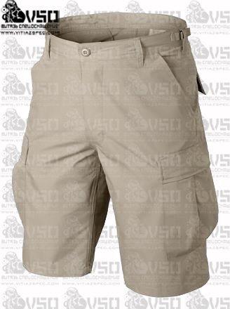 HELIKON Krótkie Spodnie BDU - Cotton Ripstop - Beżowe