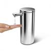 Simplehuman - Automatyczny Dozownik do Mydła - Akumulatorowy 266 ml Srebrny Matowy