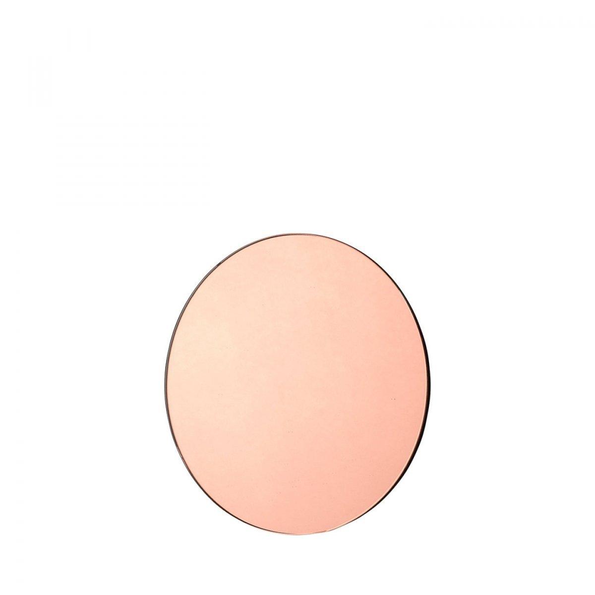 56d555681aeb Blomus VISION Lustro Okrągłe 20 cm Różowe