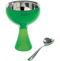 A di Alessi BIG LOVE Pucharek do Lodów z Łyżeczką - Zielony