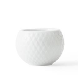 Lyngby Porcelain RHOMBE Świecznik Tealight 2 Szt.