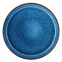 Bitz GASTRO Talerz Obiadowy 27 cm 6 Szt. Czarny - Środek Granatowy