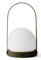 Menu CARRIE Lampion LED - Lampka Przenośna - Oliwkowa