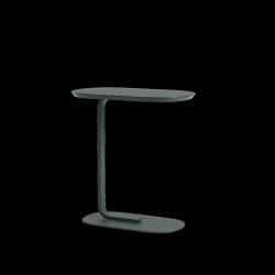 Muuto RELATE Stolik Pomocniczy - Boczny 60,5 cm Ciemnozielony