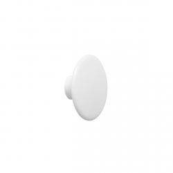 Muuto DOTS Wieszak Drewniany XS - 6.5 cm Biały