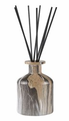 Villa Collection FRAGRANCE Dyfuzor Zapachowy z Patyczkami 150 ml w Ozdobnym Pojemniku - Sweet Wood
