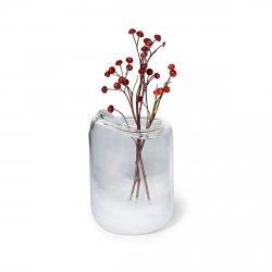 Philippi SNOW Szklany Wazon do Kwiatów 16 cm