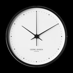 Georg Jensen KOPPEL Zegar Ścienny 30 cm Czarny