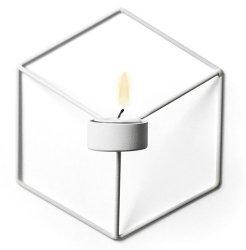 Menu POV Świecznik Ścienny - Biały