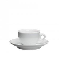 Cilio ROMA Filiżanka ze Spodkiem do Espresso - Biała