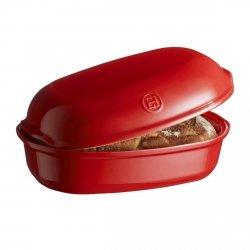 Emile Henry ARTISAN Ceramiczna Forma do Pieczenia Chleba 3,35 l Czerwona