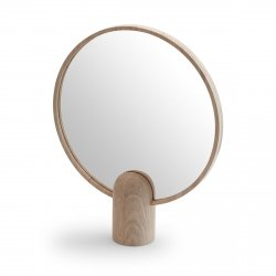 Skagerak AINO Dwustronne Lusterko Kosmetyczne w Drewnianej Ramie 32 cm