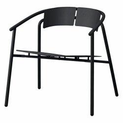 Aytm NOVO Krzesło Stalowe Lounge - Czarne