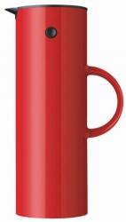 Stelton EM77 Termos Stołowy - Dzbanek Termiczny 1 l - Czerwony Jasny