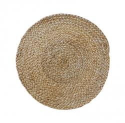 Sodahl ITS ALL NATURAL Okrągła Podkładka na Stół pod Naczynia z Konopii 35 cm 6 Szt. Naturalna