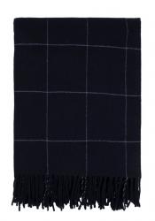 Sodahl MINIMAL Bawełniany Pled - Koc 130x170 cm Indigo