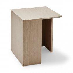 Skagerak BUILDING TABLE Stolik Dębowy 34 cm Naturalny