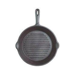 Kitchen Craft - Patelnia Żeliwna Grillowa - Okrągła