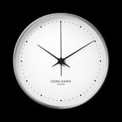 Georg Jensen KOPPEL Zegar Ścienny 30 cm Srebrny