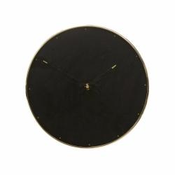 Hübsch CLOCK Marmurowy Zegar Ścienny w Mosiężnej Ramie