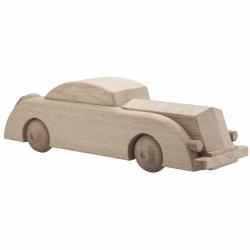 Kay Bojesen AUTOMOBIL Samochód z Drewna Dębowego